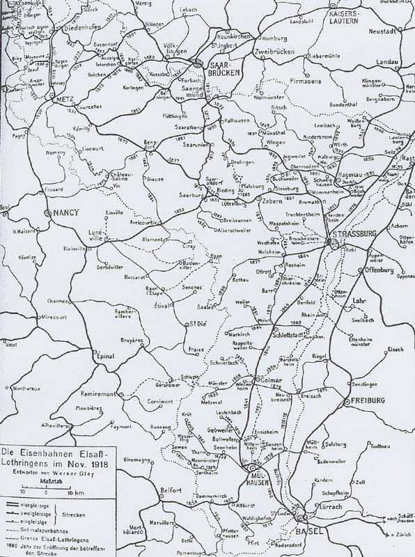 Carte Ferroviaire Alsace.Untitled Document
